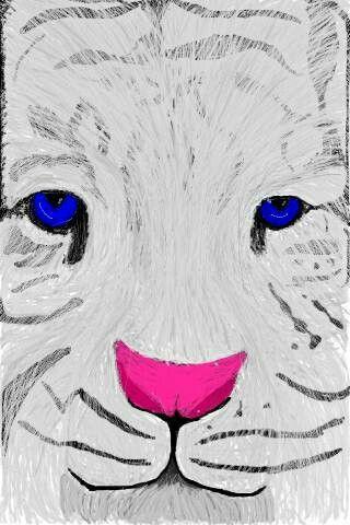 Tiger - Digital Art - Spray can - Ipod