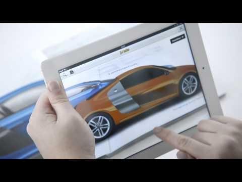 #R8 #AR #Audi Audi R8 réalité augmentée