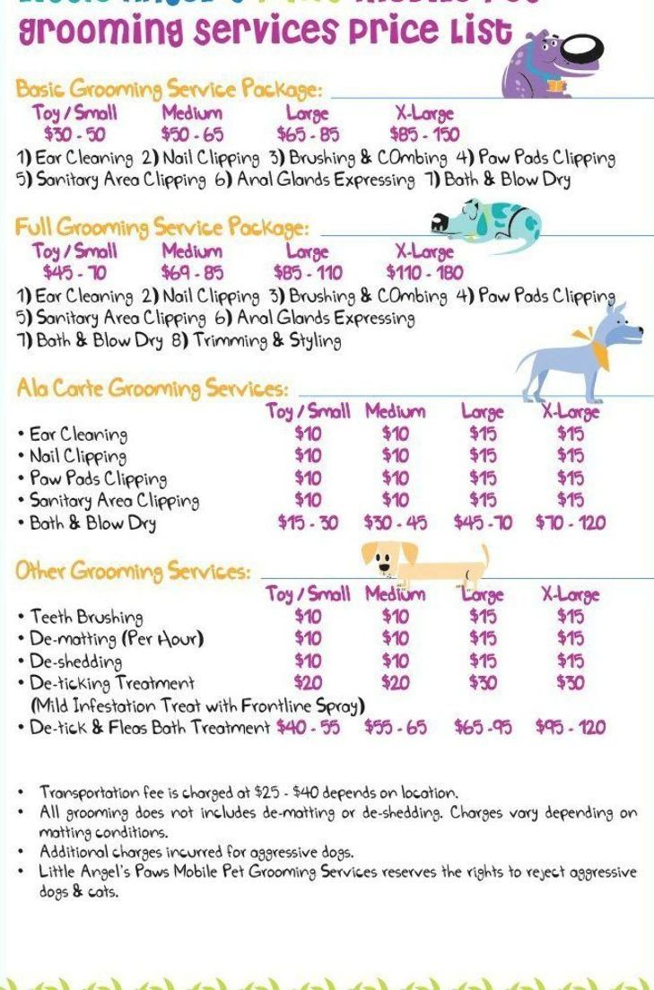 Mobile Dog Grooming Near Me Prices Pet Grooming Near Me Home
