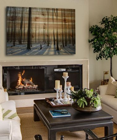 Another great find on #zulily! Papineau Natural Pine Wood Wall Art by Parvez Taj #zulilyfinds