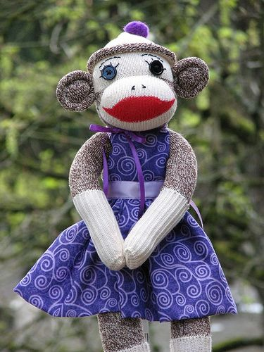 i will one day make sock monkeys this cute!!!