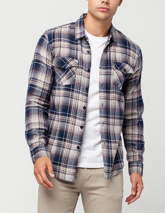 VALOR Brownsville Mens Flannel Shirt XL