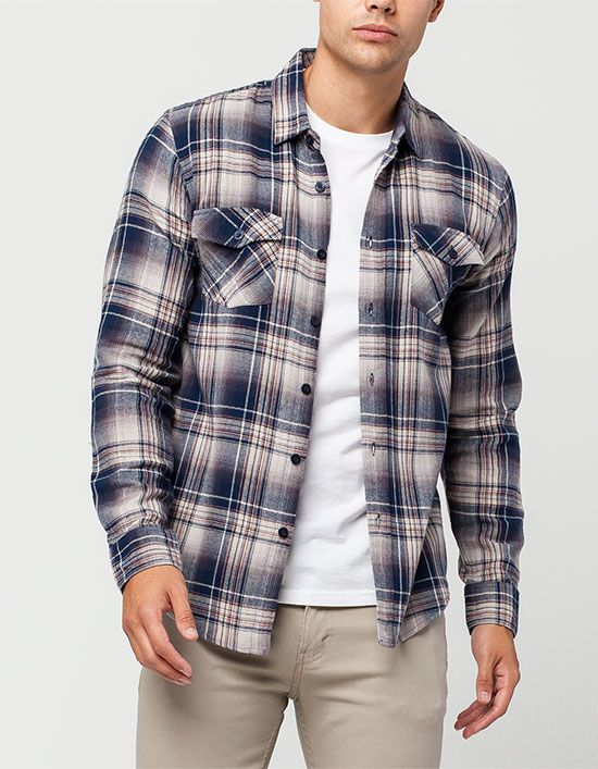 VALOR Brownsville Mens Flannel Shirt XL