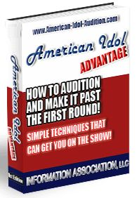 Now You Too Can Make it Past the First Round Of The American Idol Auditions.