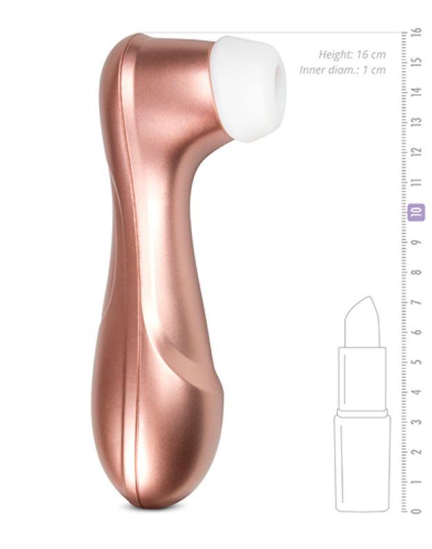 Satisfyer Pro 2 in zartem Roségold #Klitoris #stimulieren mit prickelndem Unterdruck und sorgt so für mehrfache #Orgasmen.