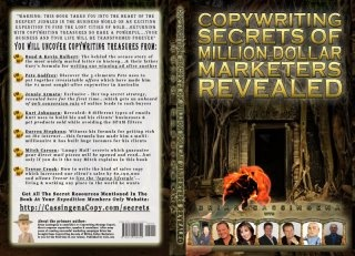 Copywriting Secrets Of Million Dollar Marketers Revealed.  A collection of 6 of Australia's Leading Marketers and two famous American brothers reveal their secrets behind million dollar marketing techniques.