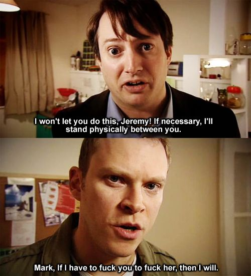 One of the reasons why The Peep Show is great