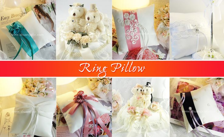Ring Pillow by Shuang Xi Le