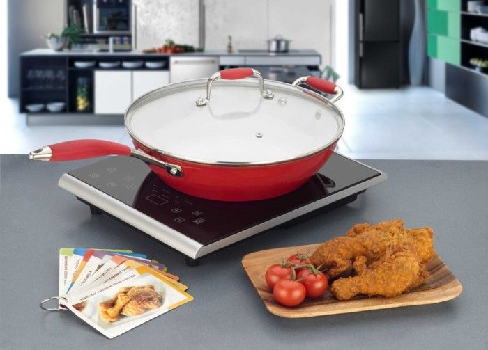cooking with induction cooker