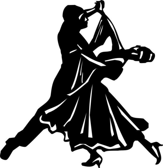 Танцующие пары картинки черно белые
