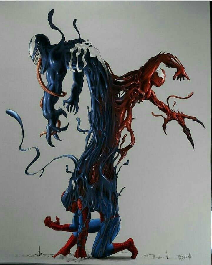 Venom and Carnage Follow@hero.diary  for more Don't forget to Double Tap  Ignore the tags :  #herodiary #marvel #batman #comics #dccomics #dc #superman #hero #art #spiderman #marvelcomics #cosplay #avengers #love #hulk #comic #superheroes #ironman #captainamerica #wonderwoman #geek #comicbooks #dcuniverse #marveluniverse #nerd #picoftheday #photooftheday #followme