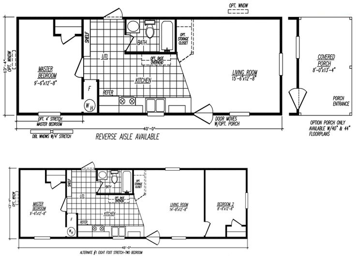 17 Best Images About Home Plans On Pinterest Single Wide