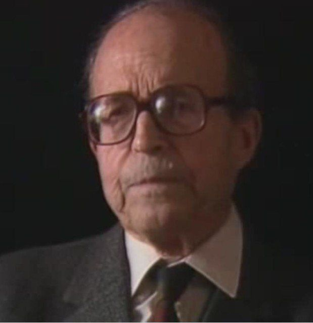 A shot of Michel Navratil from the documentary Titanic - Death of a Dream