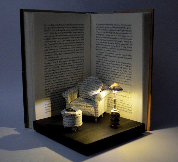 Moderne Skulpturen Faszinierende Welten Aus Buchern Moderne Skulpturen Wohnzimmer Einrichtung 2020 Kitap Heykeli Dioramas Heykel