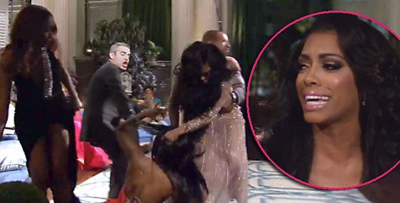 Secret Behind The 'RHOA' Reunion Fight Finally Revealed! Kenya Moore Accused Porsha Williams Of Cheating On Her Husband Kordell Stewart   Radar Online