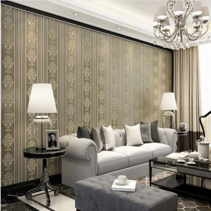 Beibehang Papel De Parede Home Decoration Scandinavian Minimalist Living Room Wallpaper 3d TV Bedroom Full Of