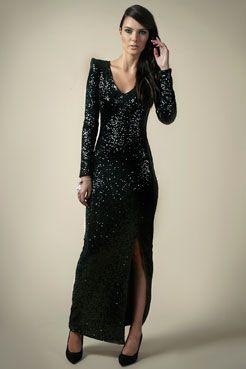 Boutique Nancy Sequin Maxi Dress at boohoo.com