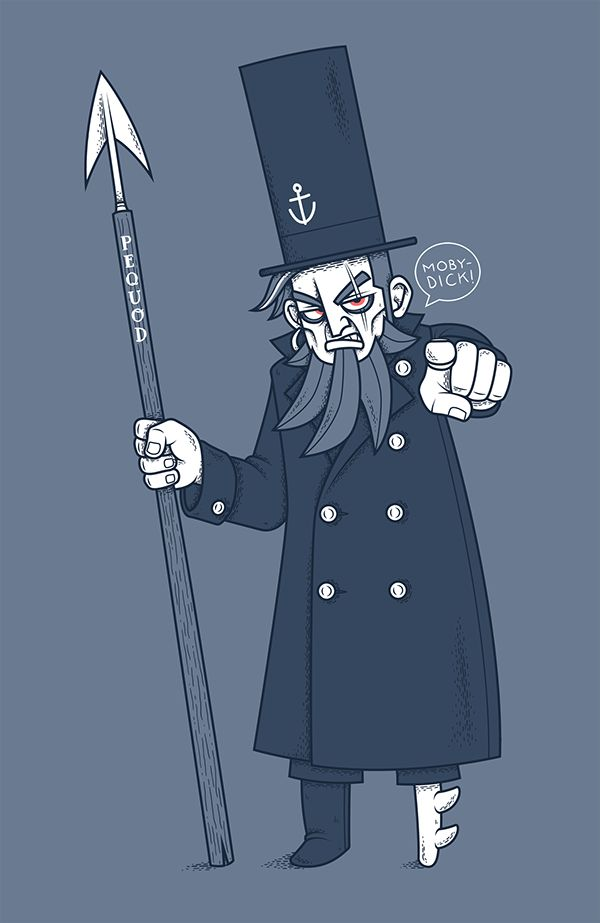 CAPTAIN AHAB by Chris Lago,