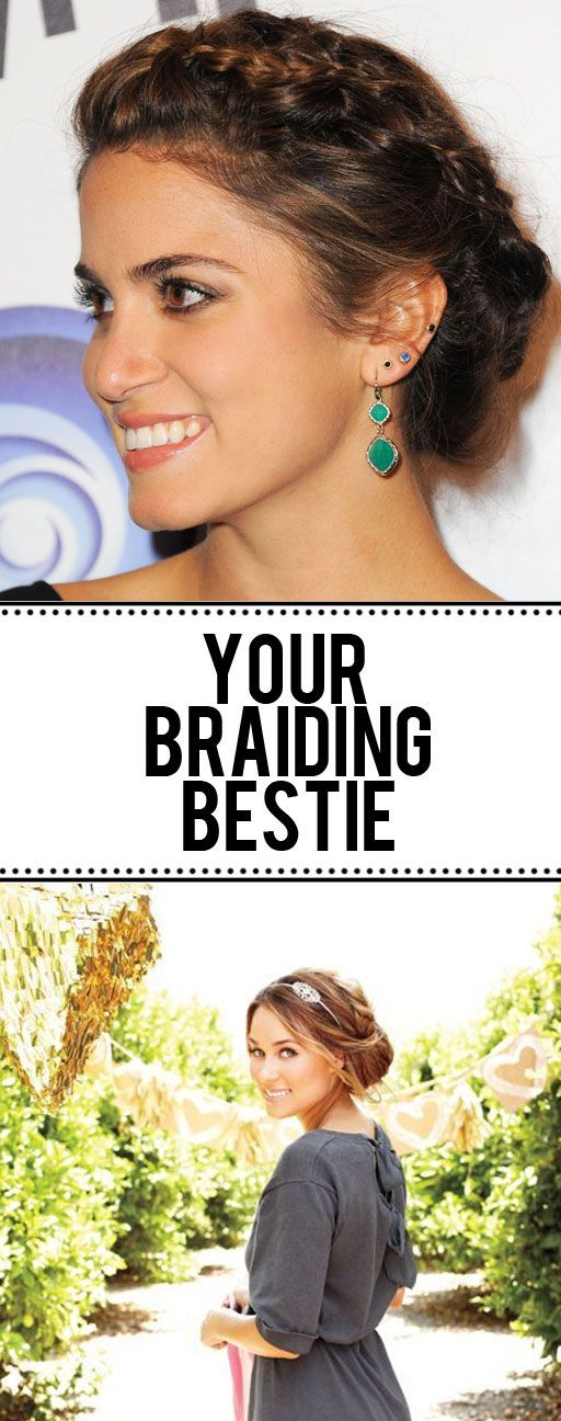 is your hair too slippery and soft for braids? this should help!