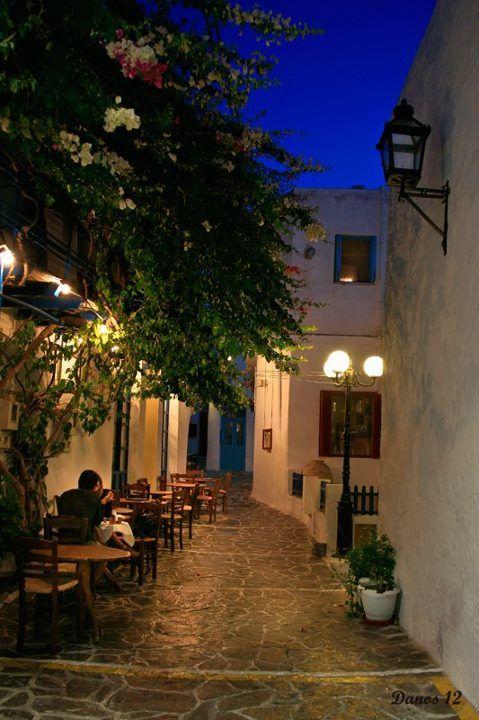 Capital of Milos island, Plaka