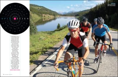 Road Cycling routes in and around Denver