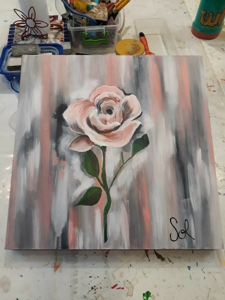 Pin By Lauren L On Art Canvas Painting Diy Projects