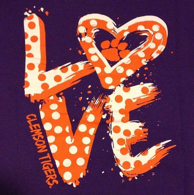 Dem Clemson Tigers!!! Bebe'!!! Awesome Tiger Love!!!