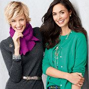 Take a look at the Lands' End Women event on #zulily today! (The model on the left is Noreen Carmody.)