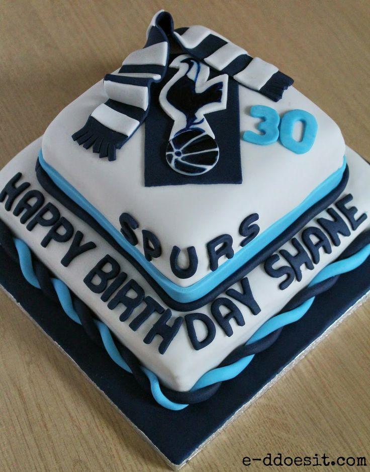 E-D Does It: Tottenham Hotspur Birthday Cake