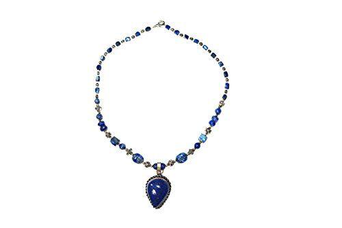 Bohemian Jewelry Lapiz Beads Pendent Necklace - Beads Sto... https://www.amazon.ca/dp/B01M0A9NX8/ref=cm_sw_r_pi_dp_x_W117xbDGNQHXK