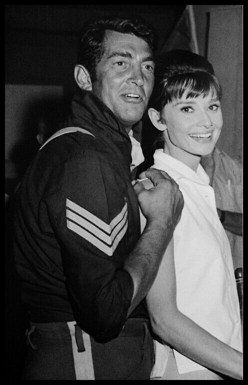 Dean Martin and Audrey Hepburn! Two of my absolute most favorite people!