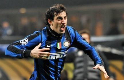 El principe Diego Alberto Milito en el Inter Milan