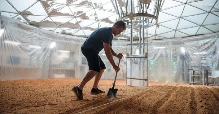 Image tirée du film Seul sur Mars de Ridley Scott, (©Twentieth Century Fox France)