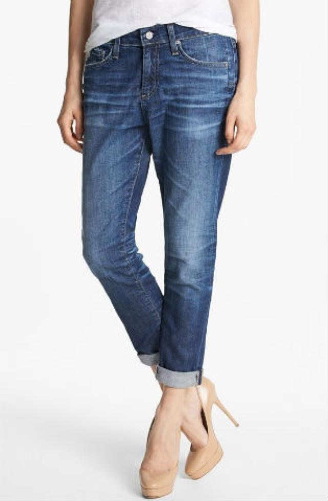 The Best Boyfriend Jeans for Your Body Type: Slouchy Boyfriends for a Boyish Figure
