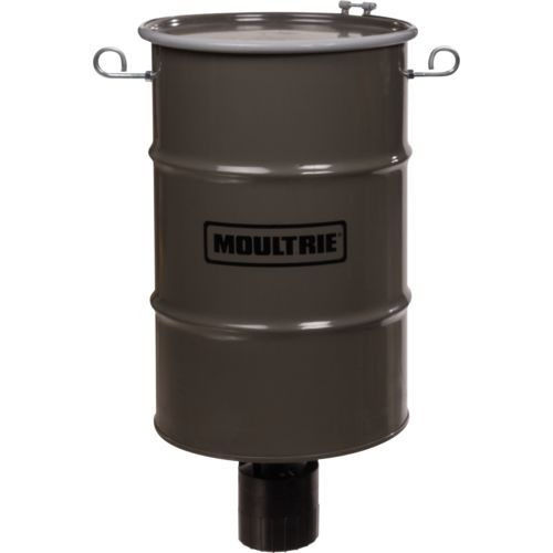 Moultrie Pro Hunter 30-Gallon Hanging Metal Deer Feeder - Feeder Parts And Accessories at Academy Sports