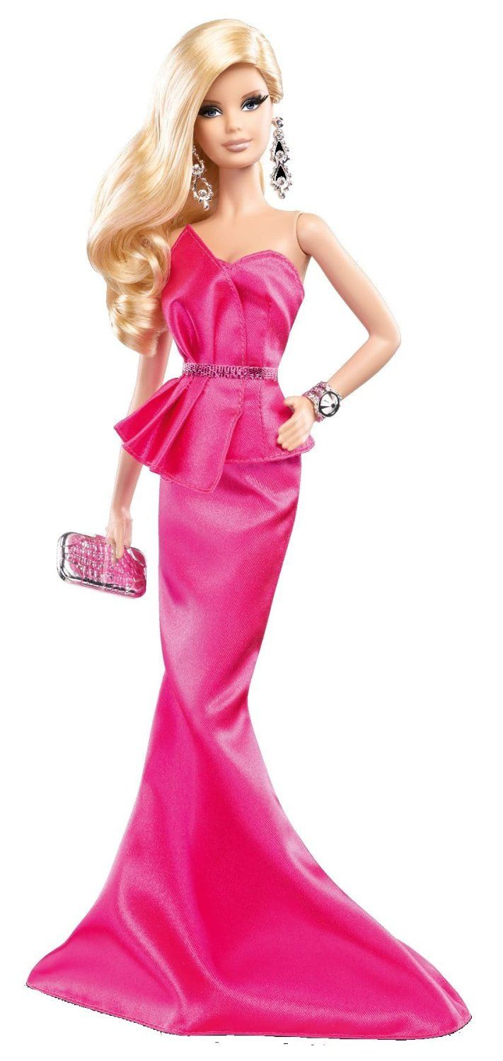 The barbie look collection pink gown 2014 barbie look collection barbie collector