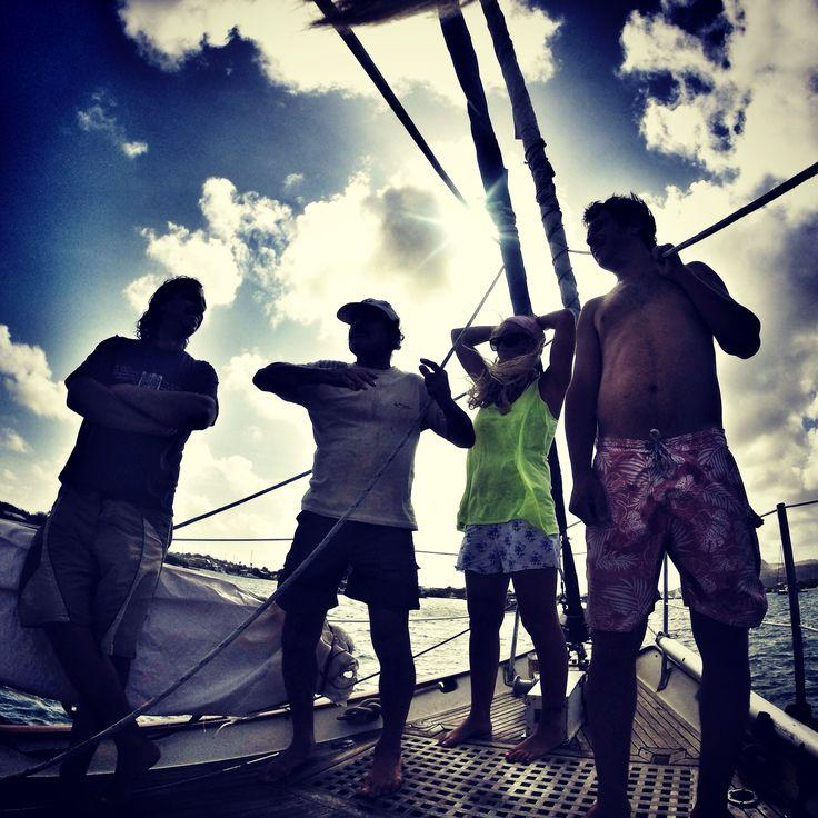 Sailing. Curazao. Antillas holandesas