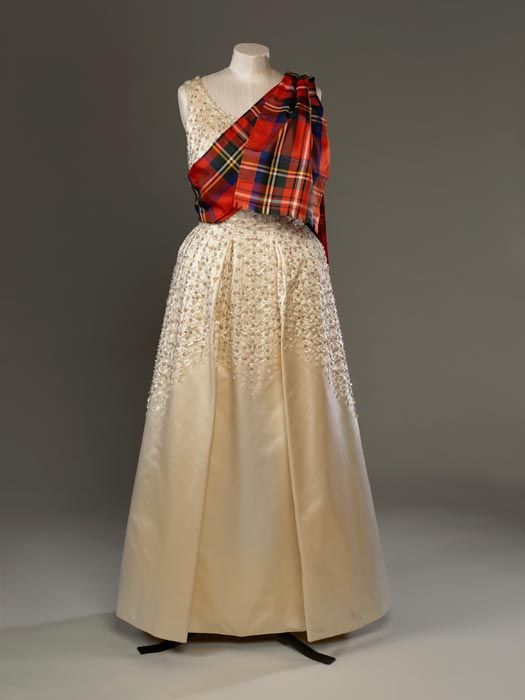Queen Elizabeth's Fashion Exhibit Will Be Full of Tartans, Ball Gowns, and Bling  - HarpersBAZAAR.com