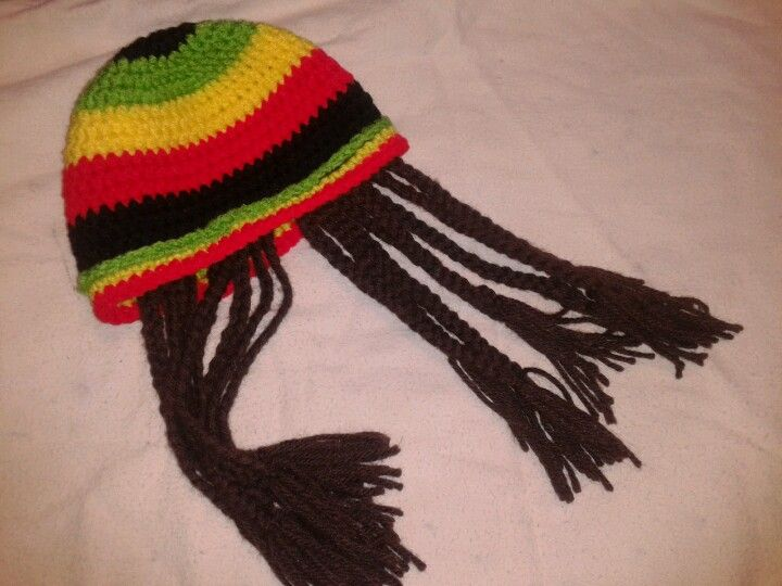 Baby Rasta Hat Knitting Pattern : 1000+ images about beards and hair hats crocheted on Pinterest Duck dynasty...