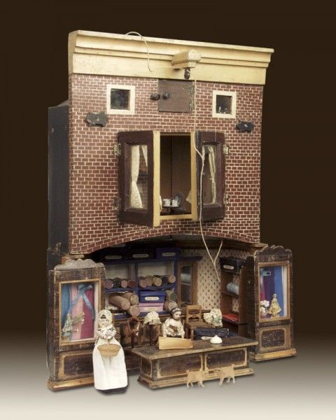 1000+ Images About Old Dollhouse & Miniatures On Pinterest