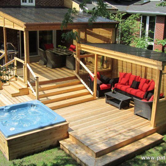 Video du patio avec polycarbonate Proulx