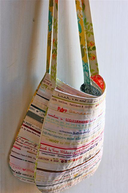 selvedge purse