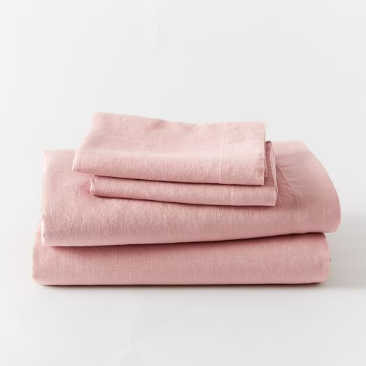 Belgian Flax Linen Sheet Set | west elm