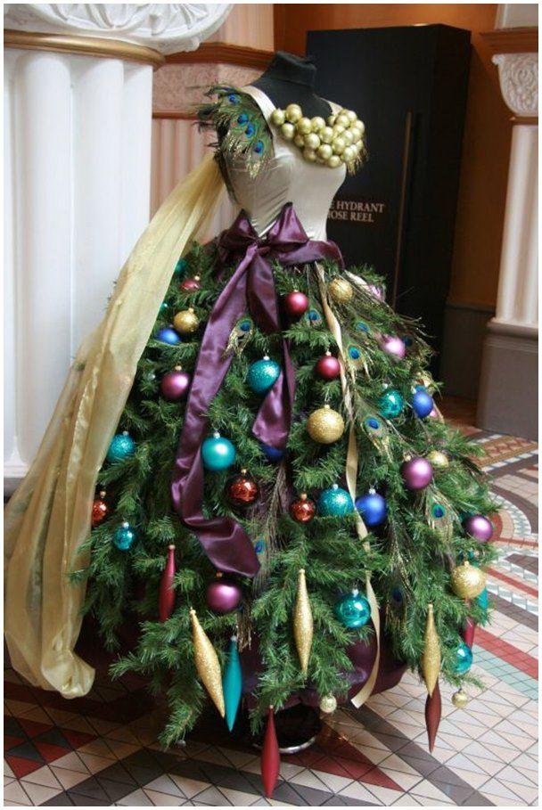 Diy Mannequin Christmas Tree Tutorial Ideas Video Mannequin Christmas Tree Christmas Tree Dress Dress Form Christmas Tree