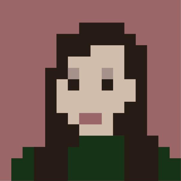 Автопортрет | Анастасия Мяоц, 1 курс | Преподаватель Михалина Т.Н Autoportret | Anastasia Miaots, first year | Head of the project Mikhalina T. N.