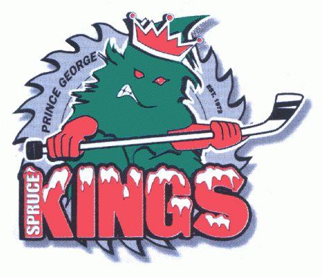 spruce kings Hockey Logo | Prince George Spruce Kings Primary Logo - British Columbia Hockey ...