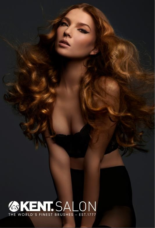 Beautiful model. Kent Salon 2012 hair style is everything!