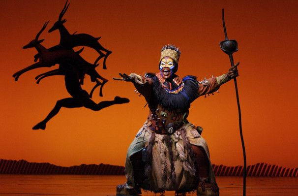 Lion King at Lyceum Theatre