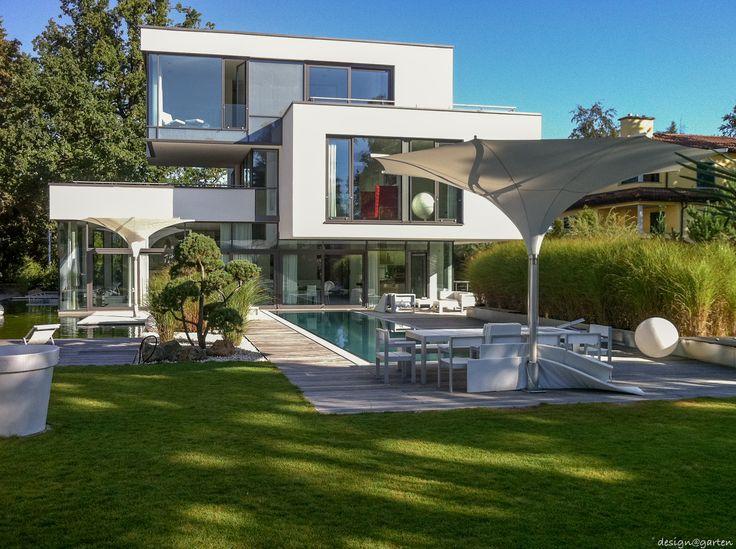 Modern Architecture, Saunas, Terrace, Patio, Garten, House Porch,  Contemporary Architecture, Steam Room, Terraces
