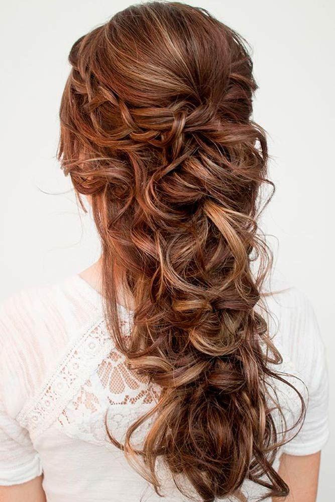 12 Super Cute Christmas Hairstyles for Long Hair